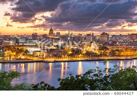 Havana, Cuba Town Skyline 69044427