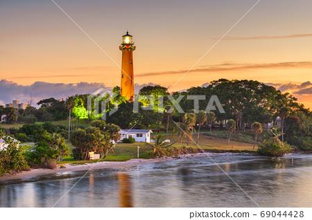 Jupiter, Florida, USA at Jupiter Inlet Light 69044428