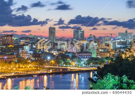 Havana, Cuba Downtown Cityscape 69044430