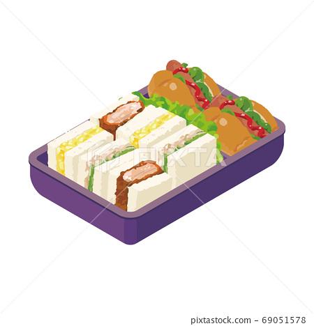 手工三明治午餐 69051578