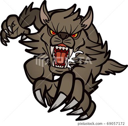 似乎在跳的狼人2 [2頭/黑色] 69057172