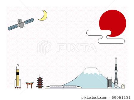 介紹古代和現代的日本東部和西部[日本模式] 69061151