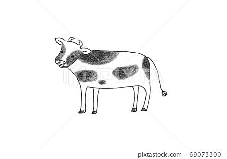 牛年牛的插圖 69073300