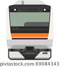 Dot picture style E233 series (Musashino Line) 69084343