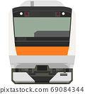 Dot picture style E233 series (Musashino Line) 69084344