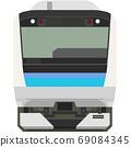 Dot picture style E233 series (Sengoku Line) 69084345