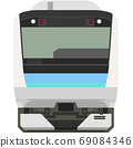Dot picture style E233 series (Chuo Main Line local) 69084346