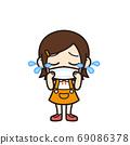 女孩傷心面具 69086378