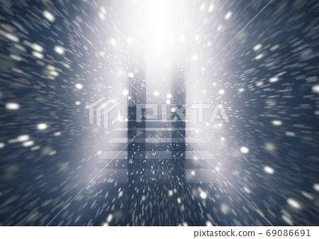 光線從敞開的門進來 69086691