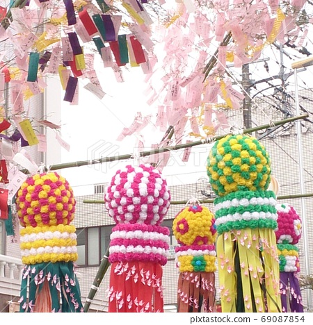 Tanabata decoration 69087854