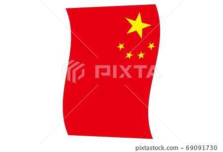 新世界標誌2:3Ver垂直波形中華人民共和國 69091730