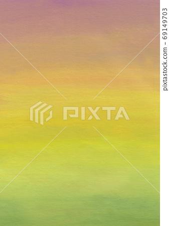 Green, yellow, orange, purple gradient pastel background image 69149703