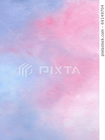 Blue, pink pastel background image 69149704
