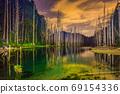 台灣高山湖泊-水漾森林 星空銀河 69154336