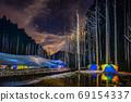 台灣高山湖泊-水漾森林 星空銀河 69154337