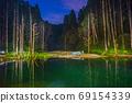 台灣高山湖泊-水漾森林 星空銀河 69154339