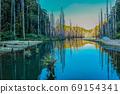 台灣高山湖泊-水漾森林 星空銀河 69154341