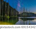 台灣高山湖泊-水漾森林 星空銀河 69154342