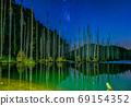 台灣高山湖泊-水漾森林 星空銀河 69154352