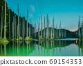 台灣高山湖泊-水漾森林 星空銀河 69154353