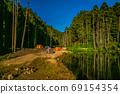 台灣高山湖泊-水漾森林 星空銀河 69154354