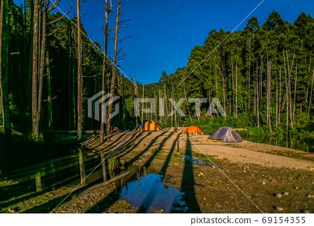 台灣高山湖泊-水漾森林 星空銀河 69154355