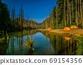台灣高山湖泊-水漾森林 星空銀河 69154356