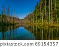 台灣高山湖泊-水漾森林 星空銀河 69154357