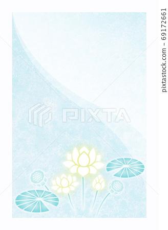 상중 엽서 연꽃 69172661