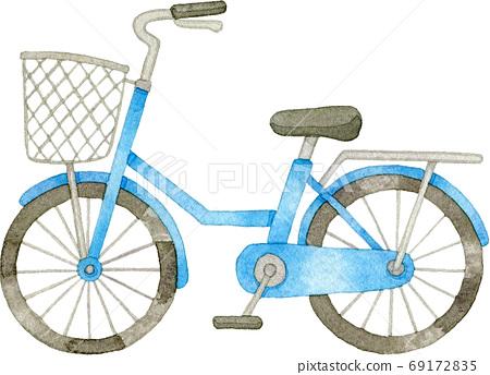 藍色自行車 69172835