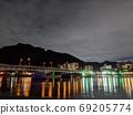 긴 가산와 나가라 (수면으로 이동 우카이 관람 선 · 기후현 기후시) 69205774