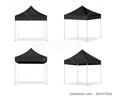 3D Mock up Realistic Tent Display POP Booth for 69207926