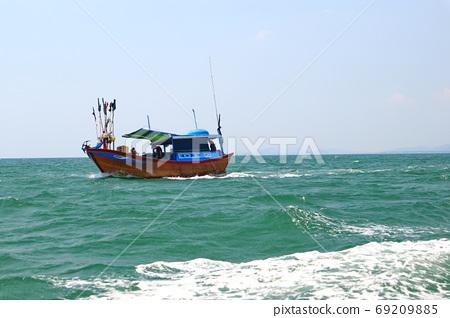 漁船 蝶山島 芽莊 越南 Điệp Sơn Island Nha Trang Vietnam 69209885