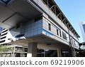 Yurikamome Takeshiba Station (Tokyo Seaside New Transit Seaside Line Station in Minato-ku, Tokyo) 69219906