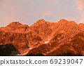 Northern Alps Okuhotaka sunrise 69239047