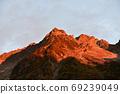 北阿尔卑斯穗高日出 69239049