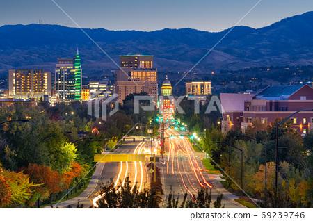 Boise, Idaho, USA 69239746