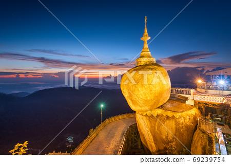 Golden Rock, Mt. Kyaiktiyo, Myanmar 69239754