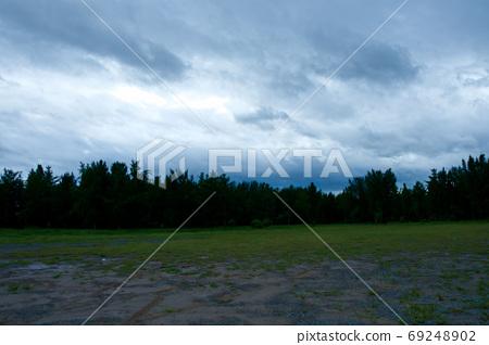태풍이 지나간 풍경 69248902