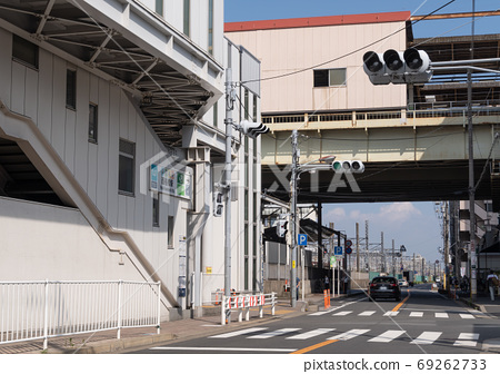 Scenery in front of the station Nishi-Funabashi station 69262733