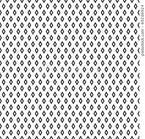 Seamless geometric diamonds pattern and texture. 69286924