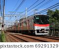 阪神线上运行的三洋电铁6000系列列车 69291329