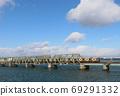 阪神难波线的淀川桥 69291332