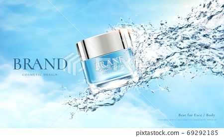 Beauty product ad template 69292185