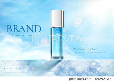 Beauty product ad template 69292187