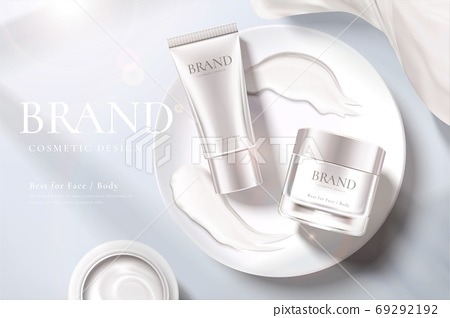 Beauty product ad template 69292192