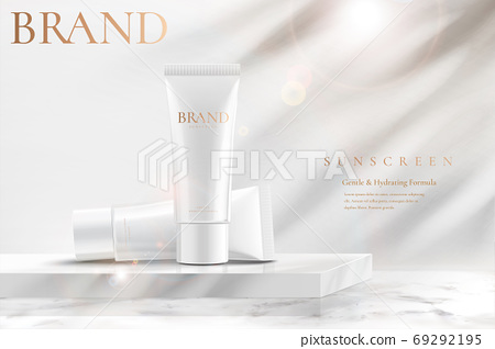 Beauty product ad template 69292195