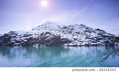 阿拉斯加,冰川,國家公園,アラスカ、氷河、国立公園、Alaska, glacier,  69316303