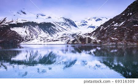 阿拉斯加,冰川,國家公園,アラスカ、氷河、国立公園、Alaska, glacier,  69316309