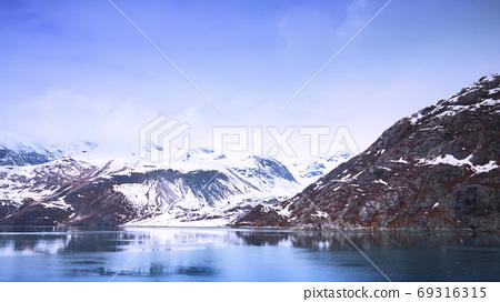 阿拉斯加,冰川,國家公園,アラスカ、氷河、国立公園、Alaska, glacier,  69316315